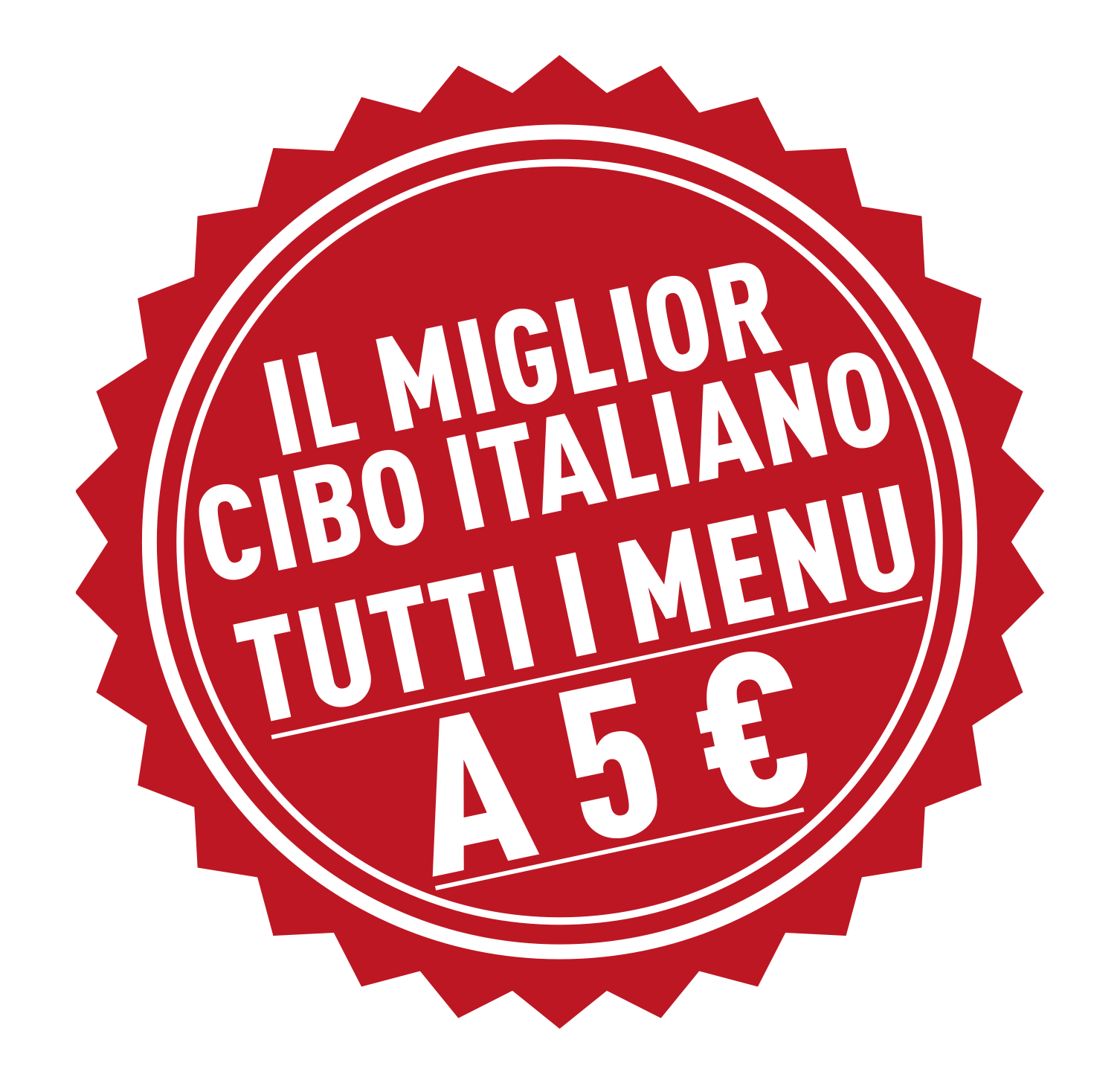 Tutti i menù in offerta